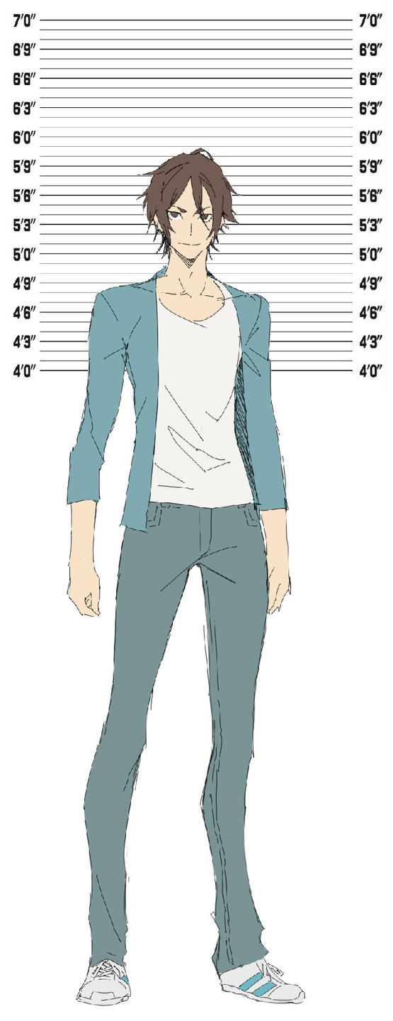 How tall is your OC by sh8dneji