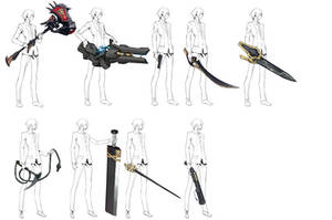 Agent Weapons By MadiBlitz