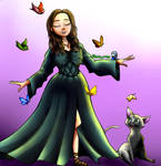 my friend in disney Princess style by zeid-endez