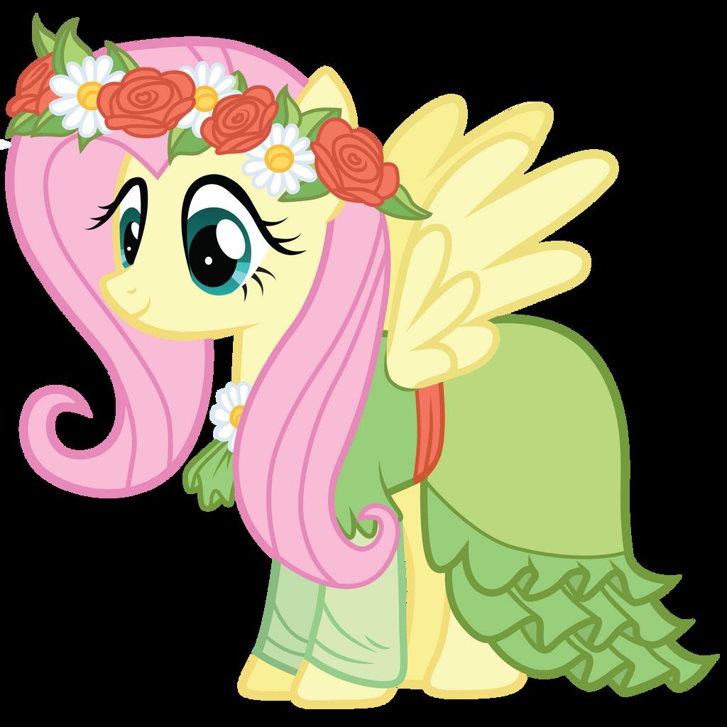 Fluttershy's Coronation Dress