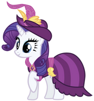 Rarity's Coronation Dress by Bethiebo