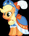 Applejack's Coronation Dress by Bethiebo