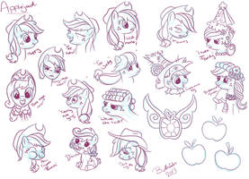 AJ Expression Practise by Bethiebo