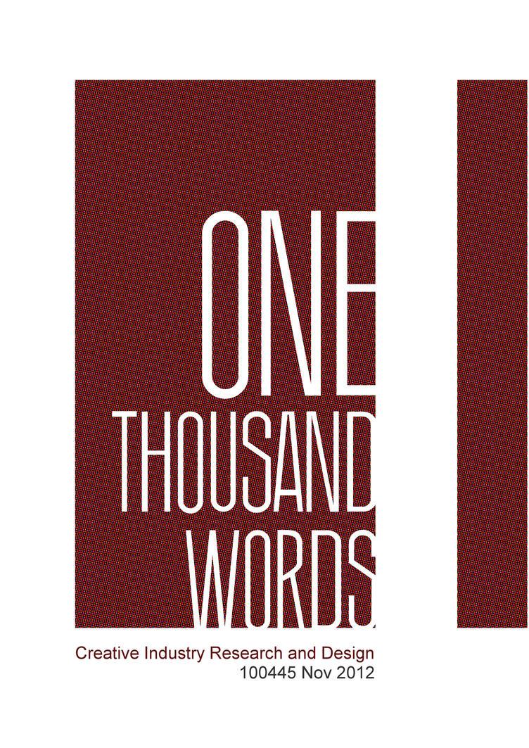 1000 thousand words by pilkingtoez