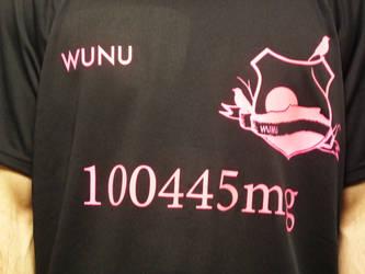 WUNU Football Shirt Breath Right Pink