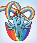 Dashing Rainbows