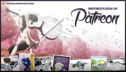 I'm on Patreon!