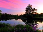 Grand River in Preston Sunset 19