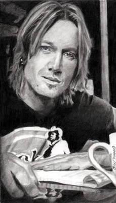 Keith Urban Portrait