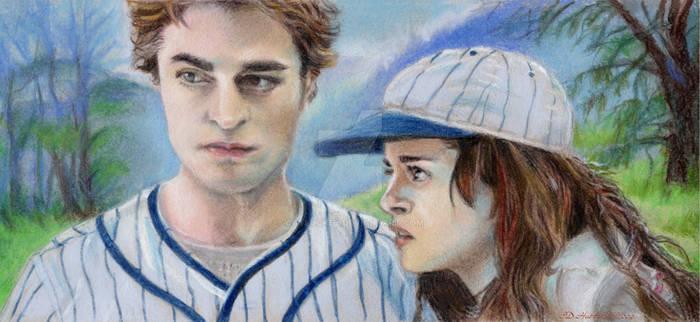 Bella Edward Scrutnizing James