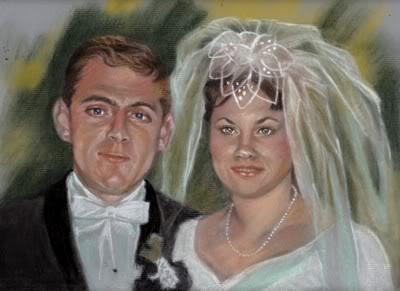 Wedding Portrait by Catluckey