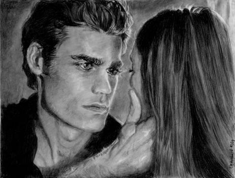 Vampire Diaries Stefan Elena