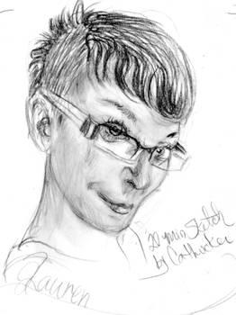 Lauren 20 mnute sketch