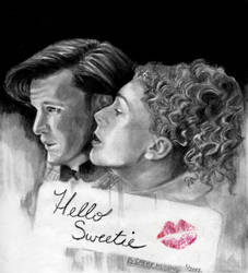 Dr Who and River Song