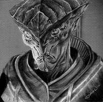 A Prothean from Mass Effect Game