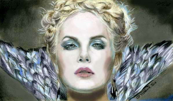 Queen Ravenna-Charlize Theron