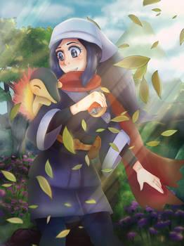 Pokemon Legends: Arceus - Fanart