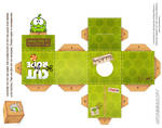 Om-Nom Fabric Box Cubeecraft