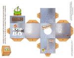 Om-Nom Foil Box Cubeecraft