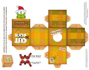 Om-Nom Santa Holiday Box