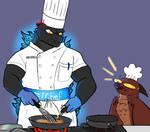 Chef Godzilla