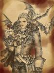 Vampire Character Design- Leon Arundel