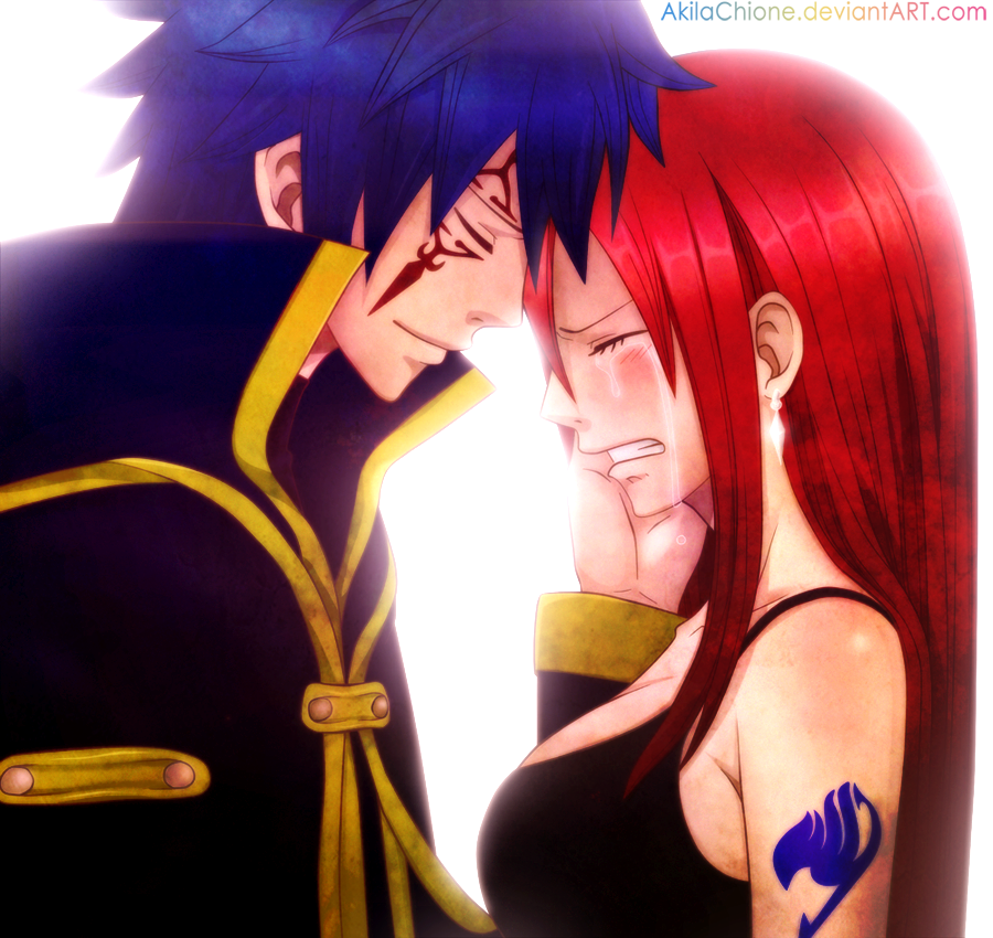 Now You Can Cry (Jellal x Erza) by AkilaChione on DeviantArt