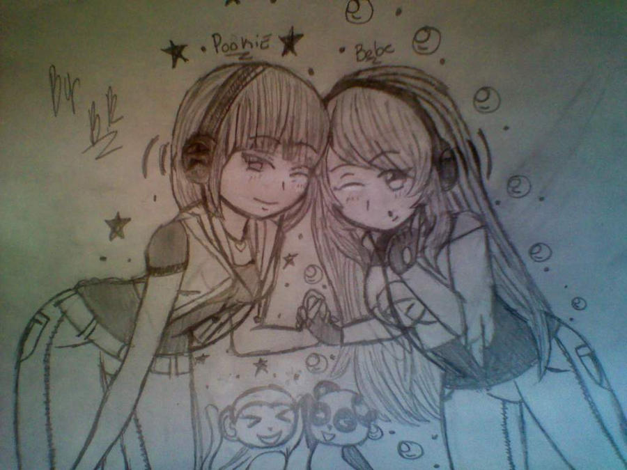 Me and My Little Cousin Pookie by BebeKimichi