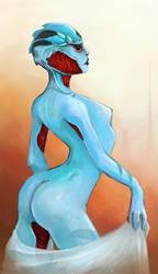 Drell Woman by Katakanasta