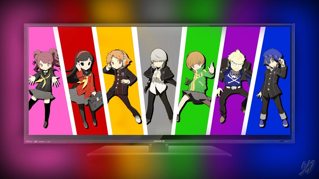 Persona Tv Wallpaper 4k By IzzyWizzySpoon On DeviantArt