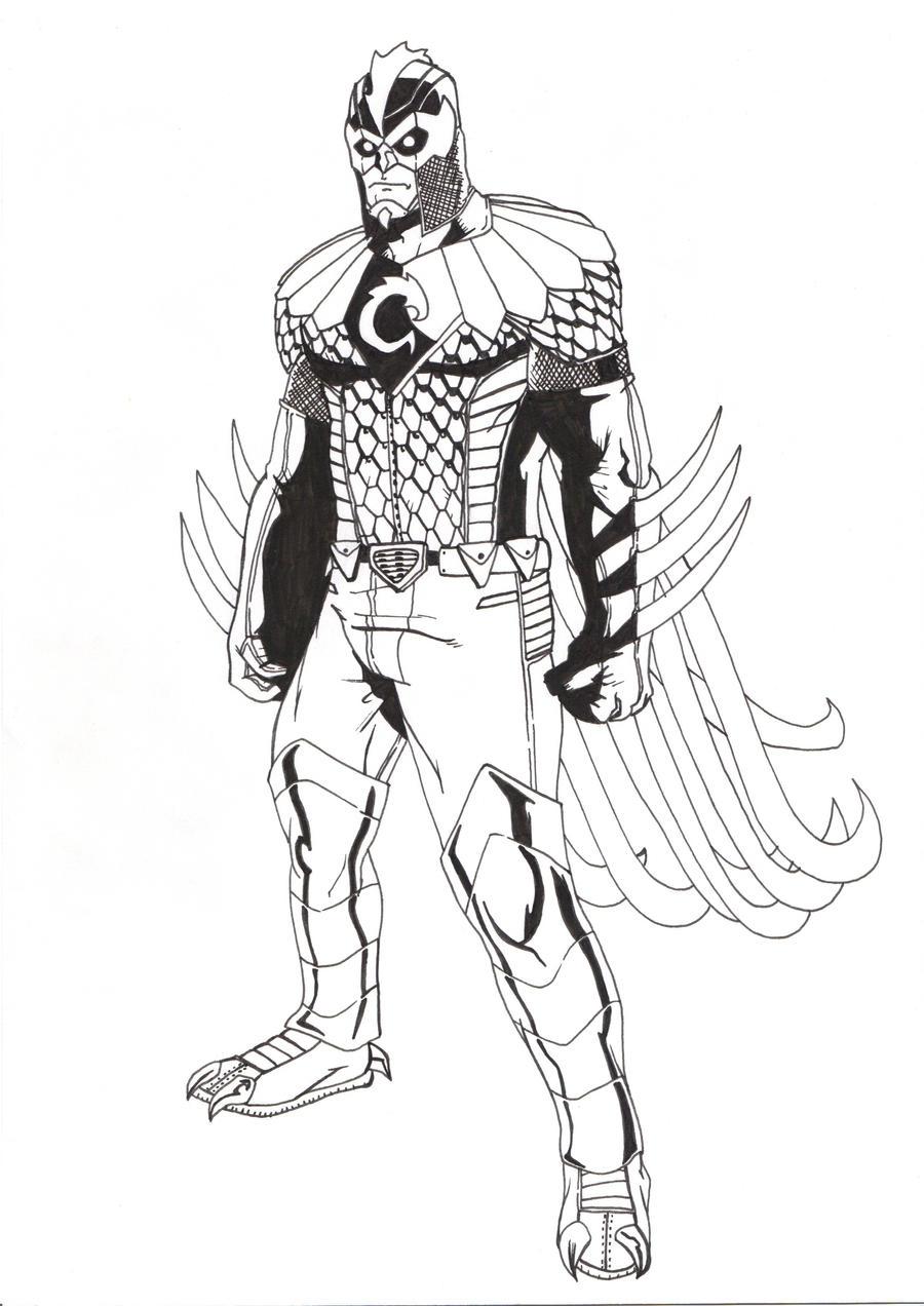 The incredible Chicken-Man by SurturFlamingo on DeviantArt