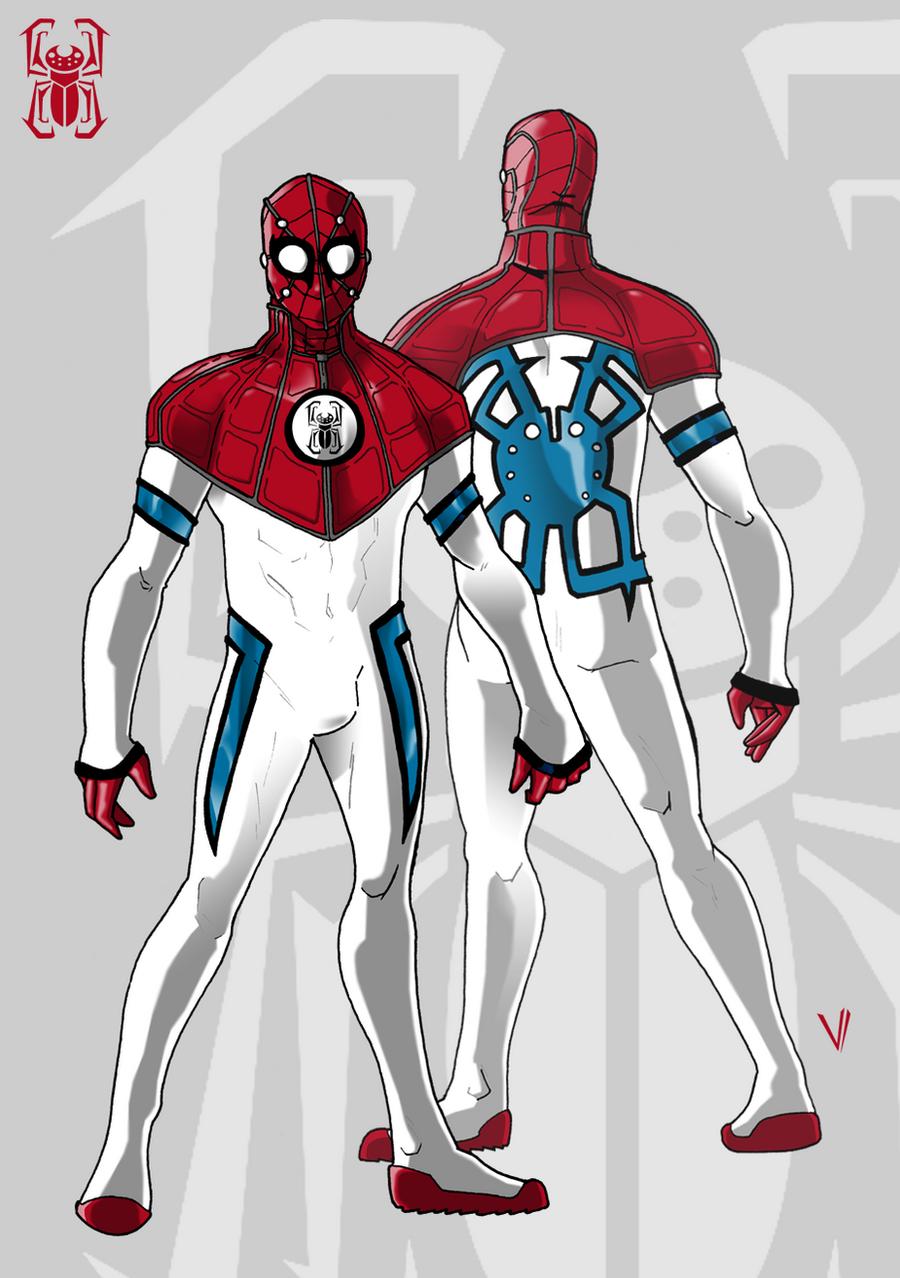 Spider-man redesign for P:R by SurturFlamingo