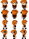 Boy Sprites by Mole-Chan