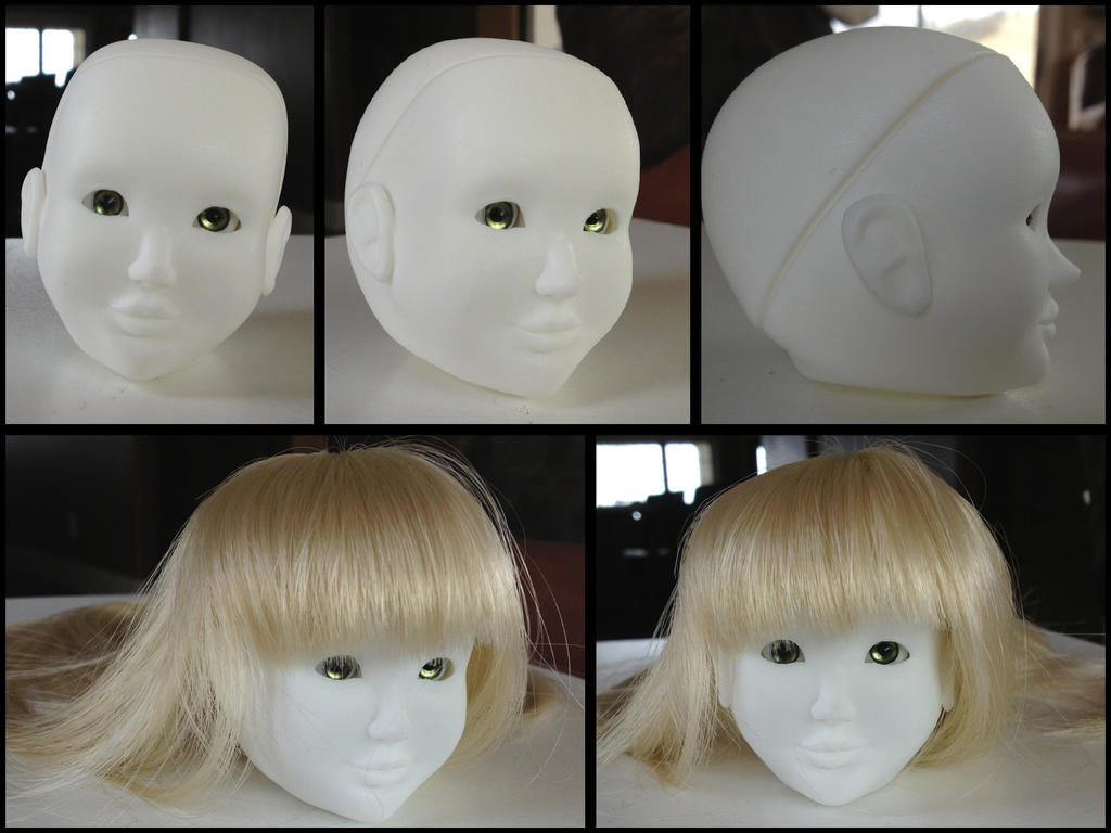 Rui BJD head by Mole-Chan