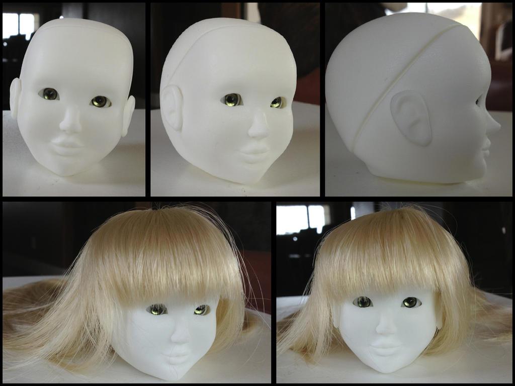Rui BJD head by Mole-Chan