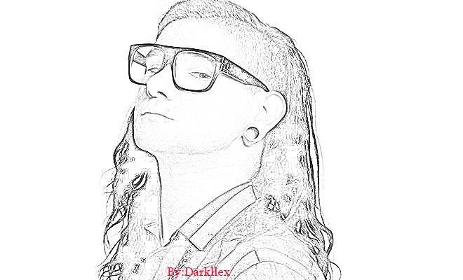 Skrillex-dibujo by Darkllex on DeviantArt