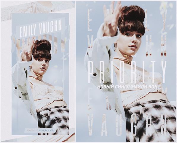i'm on my priority / Emily Vaughn by ByAzaruMintos