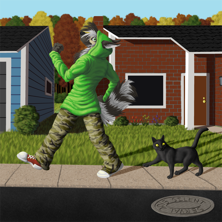 Morning Strut by SilentServal