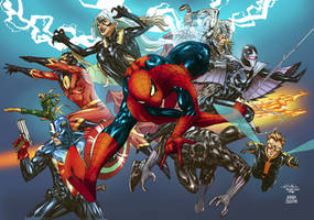 SPIDERMAN: Marvel team up by AndreaCelestini