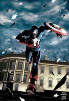 CAPTAIN AMERICA: White house by AndreaCelestini