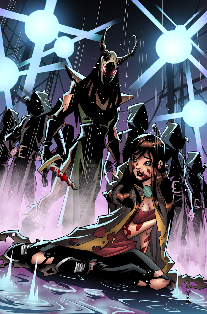 Angelica Reigns #2 Cover by AndreaCelestini