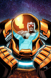 Armor-I #3 Cover