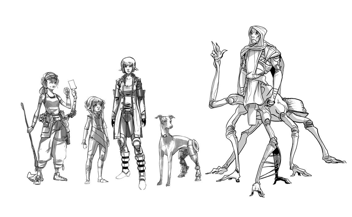 D Artiste Character Design Download : Character designs by ssandulak on deviantart