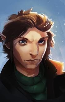 Elven portrait 1 by ssandulak