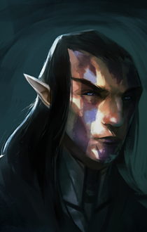 Elven Portrait 2 by ssandulak