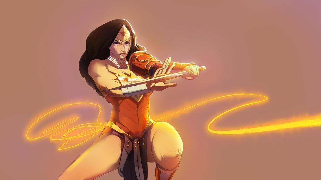 Wonder-Woman doodle by ssandulak