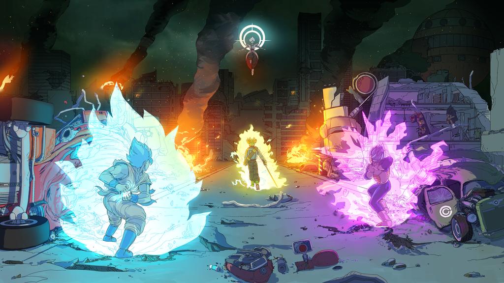 Dragon Ball Super commission by ssandulak