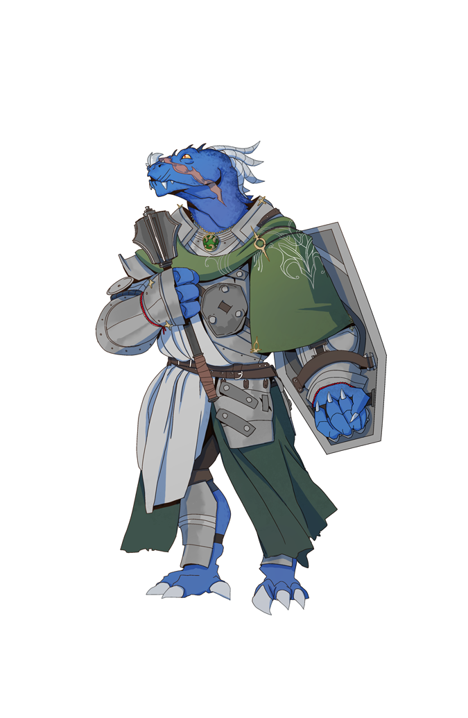 Durvull, the Dragonborn Cleric by ssandulak