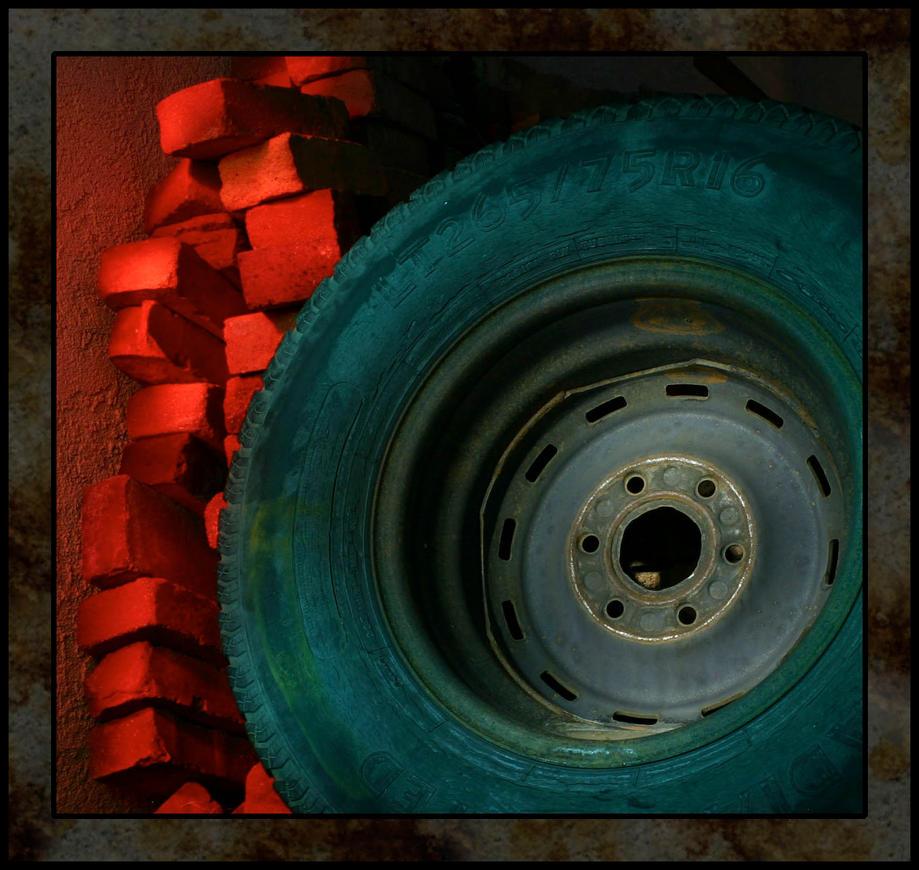 Old tire by jaedendak on deviantart for Old tire art