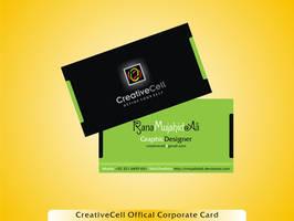 CreativeCell ID Corporate Card by rmujahidali